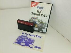 R.C. GRAND PRIX  game for the Sega Master System  CIB complete  J39