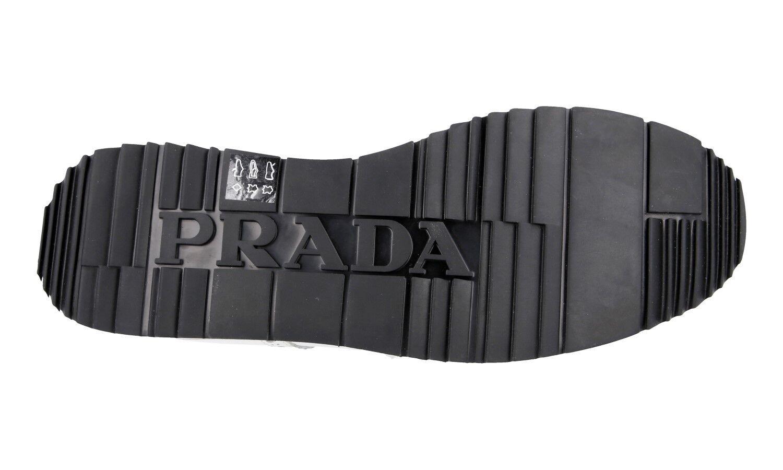 Lujo prada cortos zapatos 4e2604 full blanco full 4e2604 brogue nuevo Nuevo 10 44 44,5 b270c1