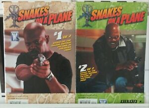 Snakes-on-a-Plane-Photo-Cover-1-2-Complete-Set-Series-Run-Lot-1-2-VF