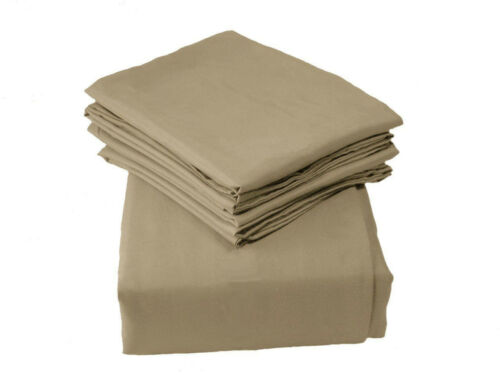 6 PIECE SUPER SOFT DEEP POCKET FULL QUEEN KING /& CAL KING SIZE BED SHEET SET
