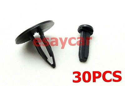 30x Fits WJ Jeep Grand Cherokee Front Bumper Cover Push In Fastner Clip N803421S