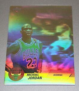 Michael-Jordan-92-93-Hologram-SCORING-Rare-NBA-Basketball-Card-insert-Mint-BV