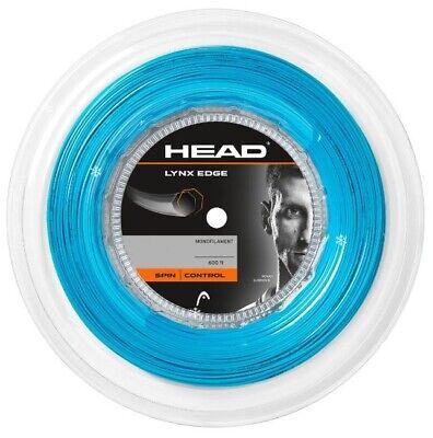 (0,45 €/m) Head Lynx 130 Blue 200 M Corde Tennis-mostra Il Titolo Originale