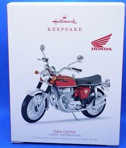 2018 Hallmark Keepsake Honda Motorcycles 1969 Cb750 Metal Ornament Nib 2020 Ebay
