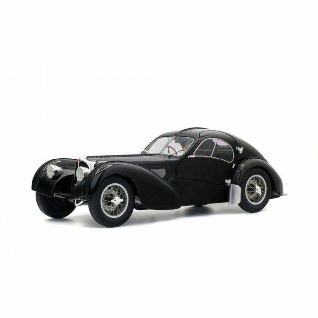 Solido Soli1802101 Bugatti Atlantic SC Noir 1937 1/18