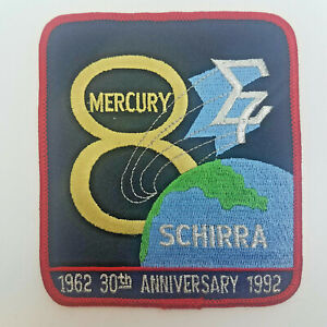 NASA-Mercury-8-Schirra-30th-Anniversary-Patch-4-1-2-inches