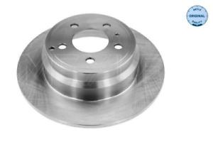 2x Bremsscheibe für Bremsanlage Hinterachse MEYLE 515 523 0013