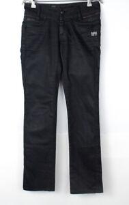 G-STAR RAW Women Berlin Straight Leg Stretch Jeans Size W26 L32