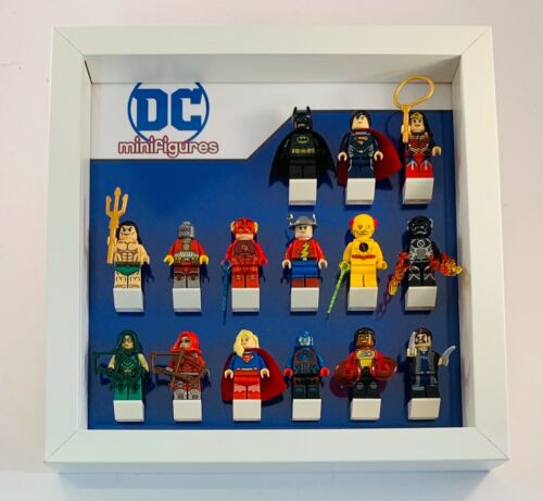 Minifigure Display Case Frame Lego DC Comics AFOL minifigs figures