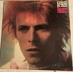 DAVID-BOWIE-Pre-Owned-LP-SPACE-ODDITY-w-POSTER-LSP-4813-PLAYED-ONCE