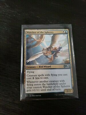 Core 2021 M21 227 English Watcher of the Spheres Magic the Gathering MTG