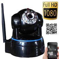 Wansview Wireless Ip Camera Pan Tilt 1080p Hd P2p Audio Wifi Smarpthone Pc View