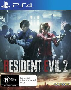 Resident Evil 2 PS4 Game NEW