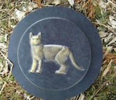 Cat stepping stone mold plastic reusable casting mould | eBay