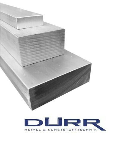 Aluminium Flachstange Maße wählbar Alu Flachmaterial AlMgSi1 Flach Vierkant