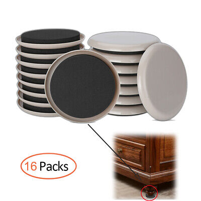 4 Furniture Sliders Magic Mover Pad Floor Protectors Moving Wood As Seen On TV