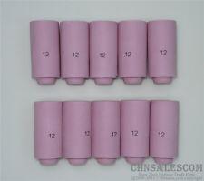 "10 pcs #12 10N44  Alumina Nozzle Cups for WP-17 WP-18 WP-26 19.5mm 3/4"""