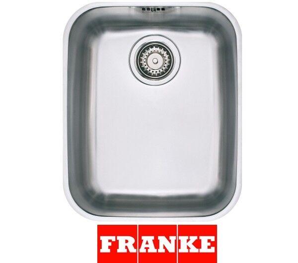 FRANKE AMX 110-34 Armonia 1.0 Bowl Undermount Kitchen Sink Stainless Steel