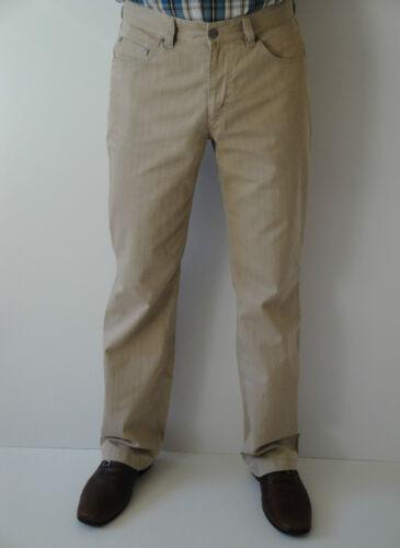tg Uomo nano-pantaloni di Heine in colori sabbia e grigio argento 48,50,52,54