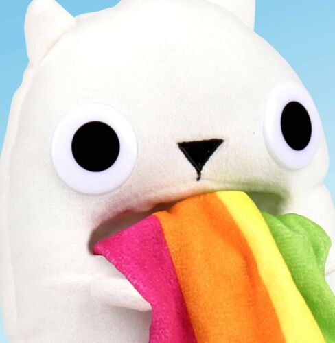 Exploding Kittens Collectible Plush Rainbow Ralphing Cat