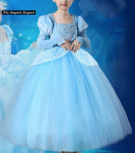 Caricamento dell immagine in corso Cenerentola-Vestito-Carnevale-Dress-up- Cinderella-Cosplay-Costume- c32c0ddca6d1