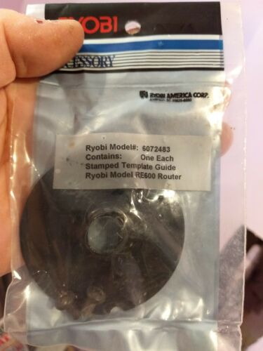 Ryobi R600 RE600 Stamped Template 6072483 Replacement Parts Guide set