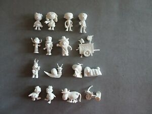 16-Raro-Conjunto-Completo-magic-rotonda-Dunkin-figuras-Premium-KAUGUMMIFIGUREN
