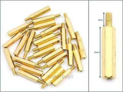 25pc 12mm M3 Male Female Brass Hex Standoff Spacer Screw Separator Stand Off PCB