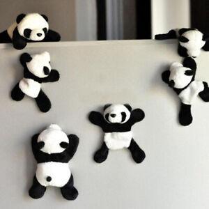 Cartoon-Plush-Panda-Fridge-Magnet-Sticker-Refrigerator-Home-Decoration-Novelty