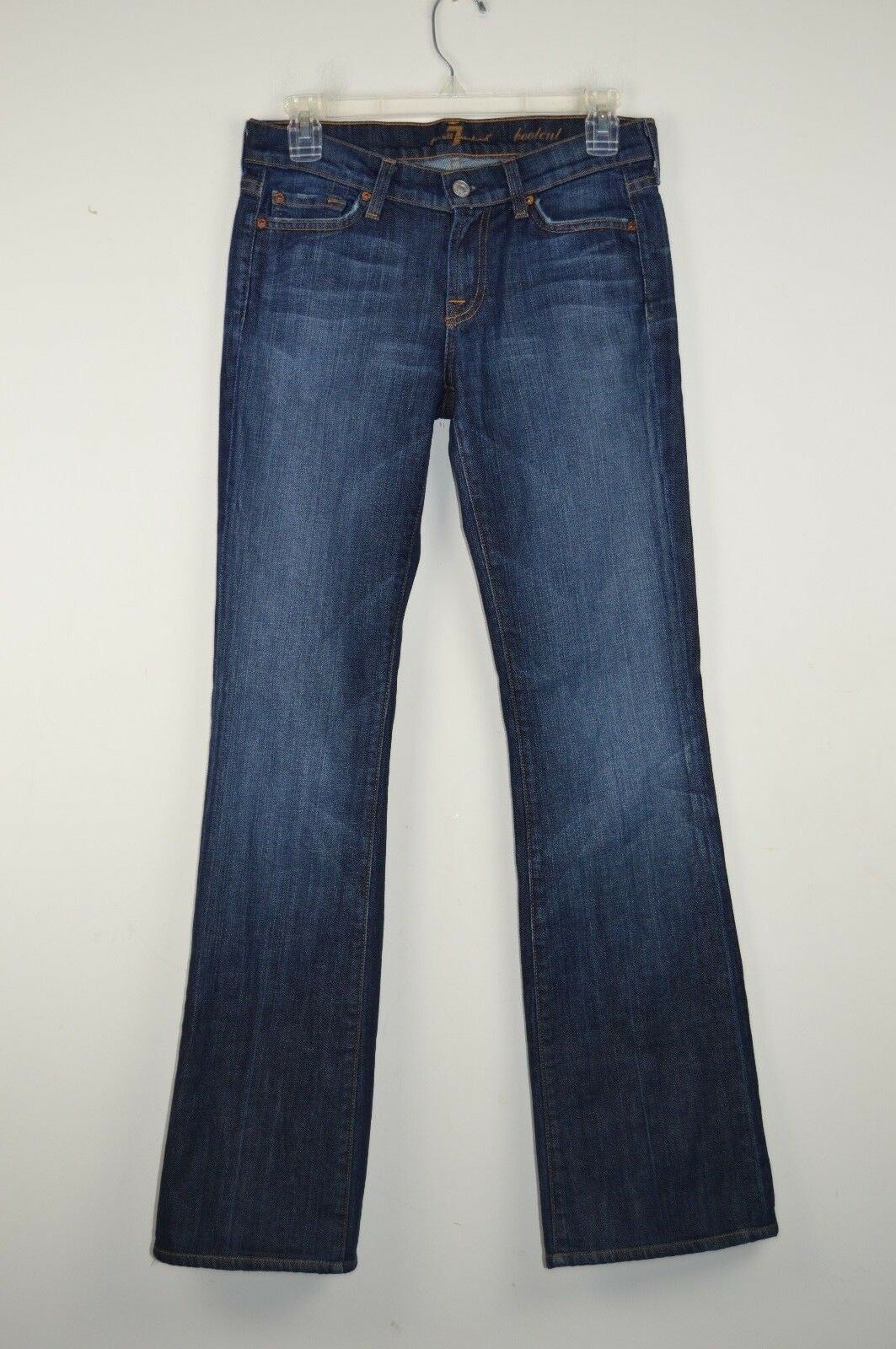 7 For All Mankind Womens 26 Denim Jeans Boot Cut Actual W 28.5 x I 31.5