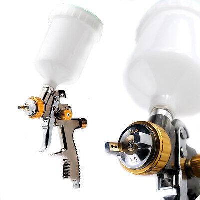 Scratch Doctor LVLP Gravity Feed Spray Gun - Waterbased , Solvent Paint & Primer
