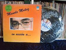 MANOLO MUÑOZ | En accion a … |Alguien como tu - Dentro de mi | LP EX