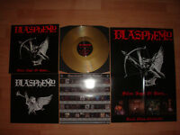 BLASPHEMY Fallen Angel of Doom GOLD LP limited to 100 *Horror Records exclusive*