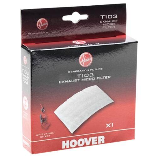 Hoover ASPIRAPOLVERE ORIGINALE T103 pre motore S109 EXHAUST Micro Filtro