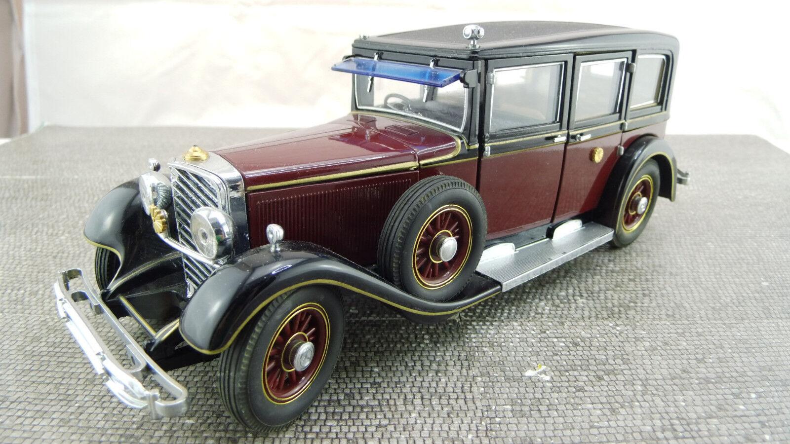 MINICHAMPS 1 24 1935 Mercedes Benz 770 a672 bon état