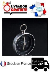 BOUSSOLE-DE-POCHE-RANDONNEE-TREKKING-COURSE-D-039-ORIENTATION-BALADE-SCOUT