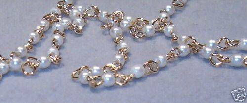 Double Swag Pearl  gorgeous quality Belly Chain or Belt Designer Very Classy USA