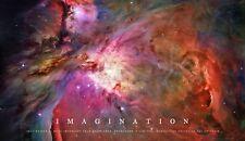 A1 IMAGINATION BEAUTIFUL SPACE NEBULA INSPIRATIONAL PIC ARTWORK PRINT POSTER