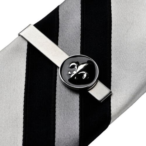 QHG2 Fleur de Lis Tie Clip