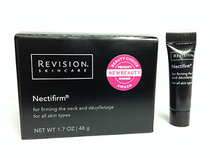 Revision Nectifirm Neck Firming Cream 1 7 oz Jar w Bonus Nectifirm Sample