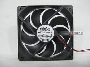 12025 12v 0.45A 12CM DLF12025B12L Chassis Cooling Fan