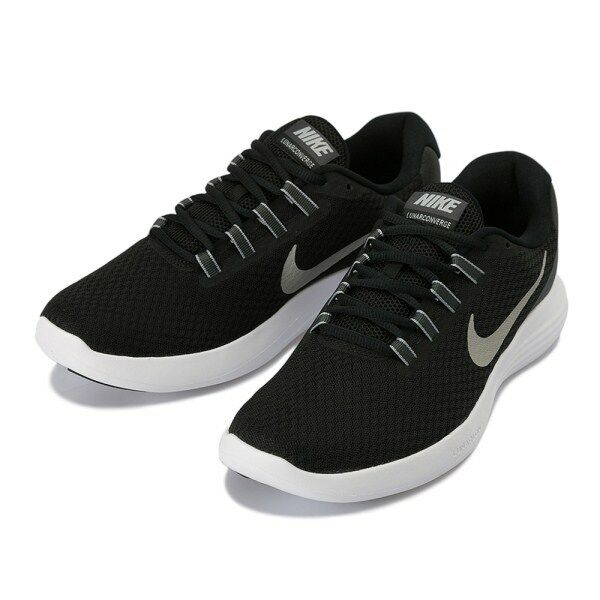 Nike LunarConverge  Hombre`s Running Trainers Negro Zapatos 852462 001 Negro Trainers 852317