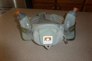 Nathan-Hydration-Waist-Belt-Water-Bottle-Holder-amp-Zip-Pouch-Bottles
