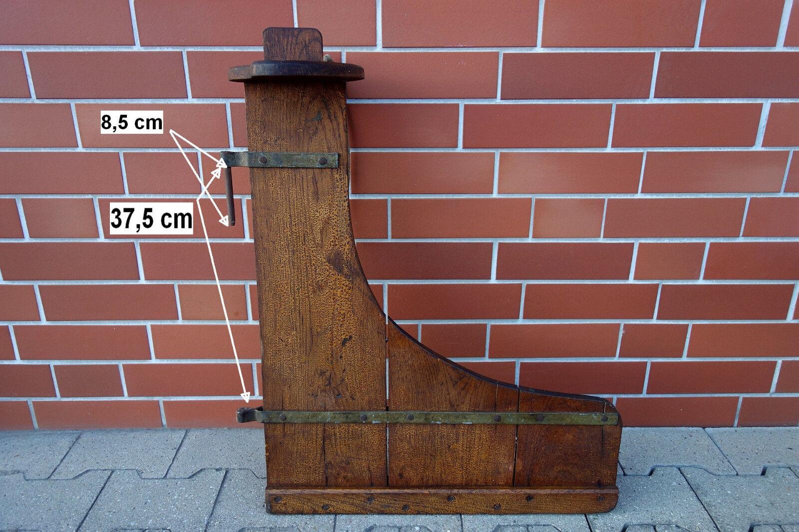 68 x 56 cm altes Ruderblatt Holz Steuerblatt Klinker Stiefel Handwerksarbeit Handwerksarbeit Stiefel 3,6 kg f7b559