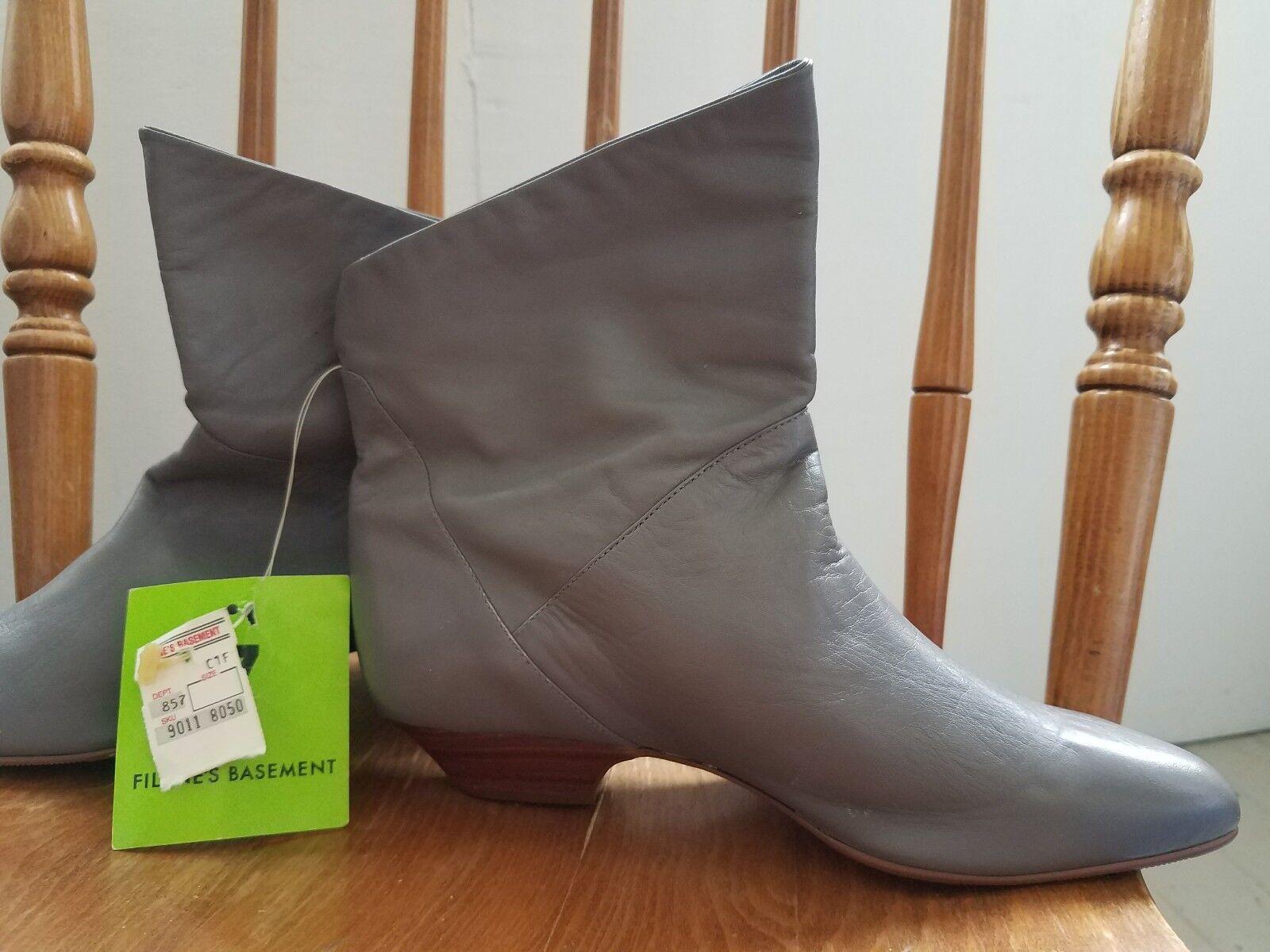 Catleia Ankle Stiefel Grau Größe 7B made in Brazil