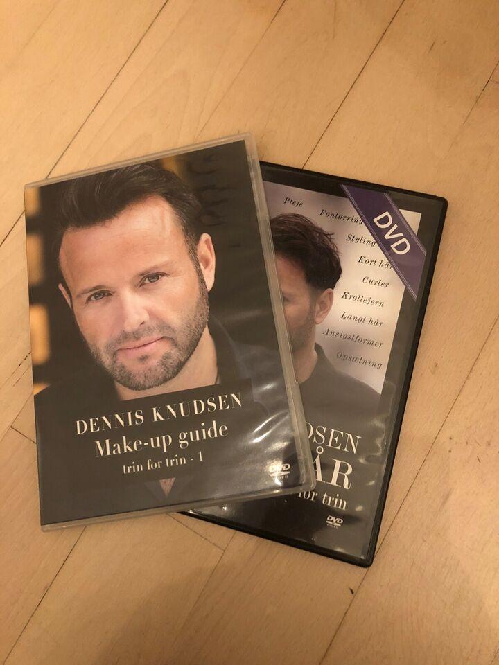 Dennis Knudsen hår og makeup guide, DVD, andet