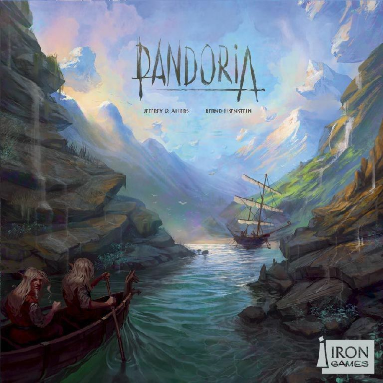 PANDORIA DEUTSCH / ENGLISCH - Spiel - Iron Games - OVP