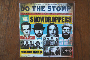 THE-SNOWDROPPERS-034-Do-The-Stomp-034-5-track-PROMO-CD-inc-Instrumental
