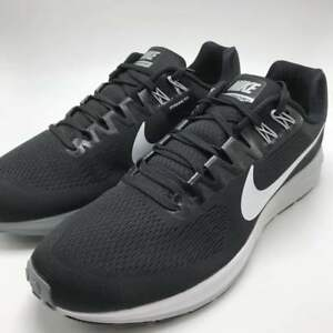 low cost 803c9 ca179 Details about Nike Air Zoom Structure 21 Men's Running Shoes  Black/White-Wolf Grey 904695-001