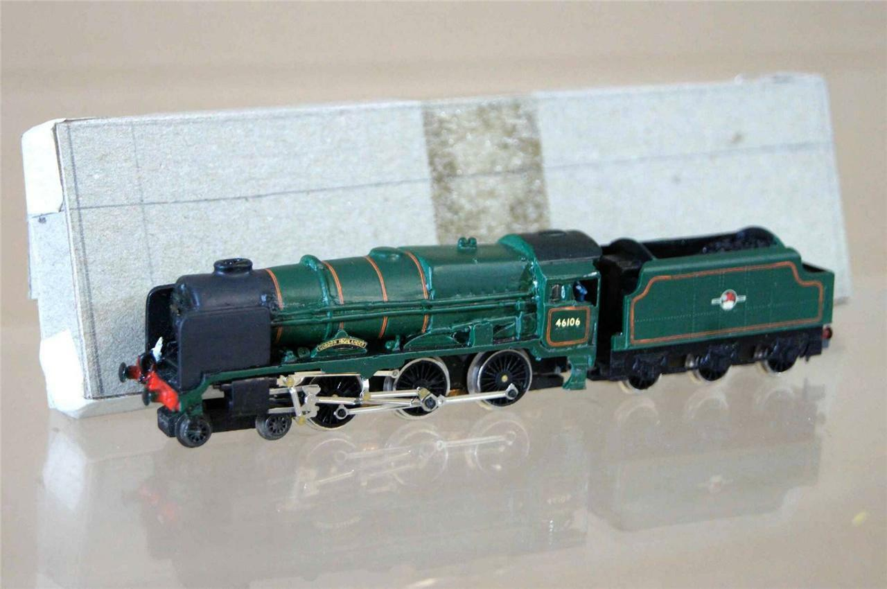 Graham Farish Kit Montado Langley Br 4-6-0 Royal Scot Loco 46106 Real Montañés